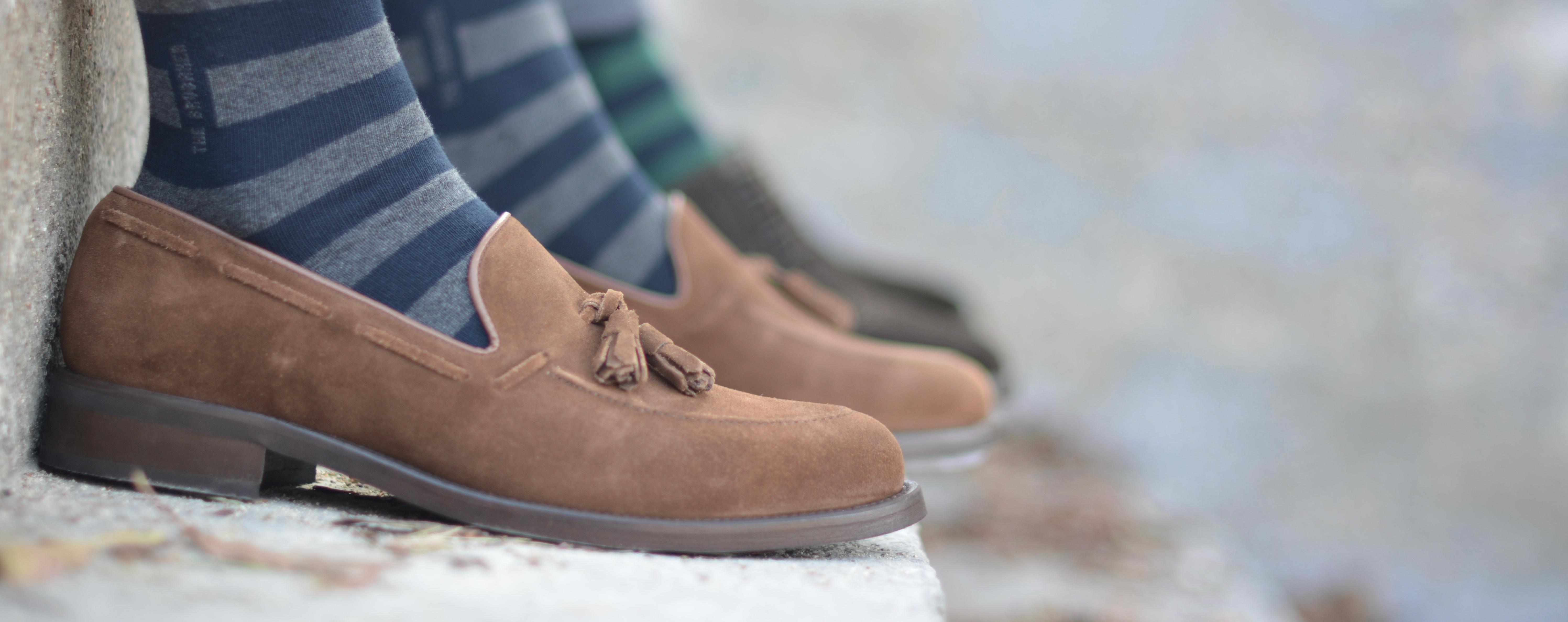 Zapatos Borlas